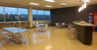 Painting a commercial break room in Tallahassee Florida
