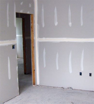 Painting new drywall as installed in Tallahassee Florida