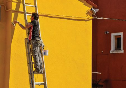 Yellow House Residential Painting in Tallahassee Florida