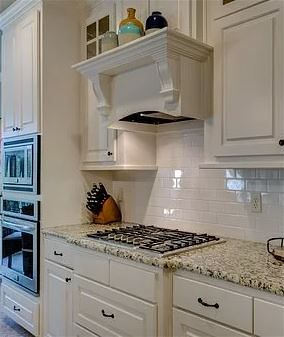 Eggshell white kitchen cabinets interior residential painting in Tallahassee Florida